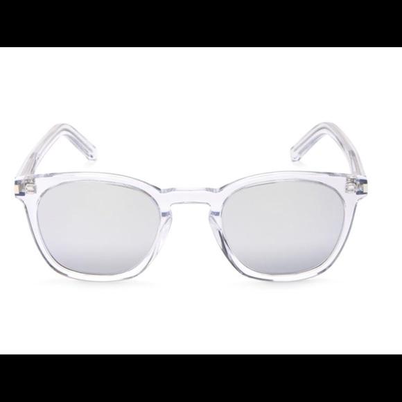 9eea1bc0c7d Yves Saint Laurent SL28 012 Crystal  silver. M 5ac017162ae12f9004f63d91